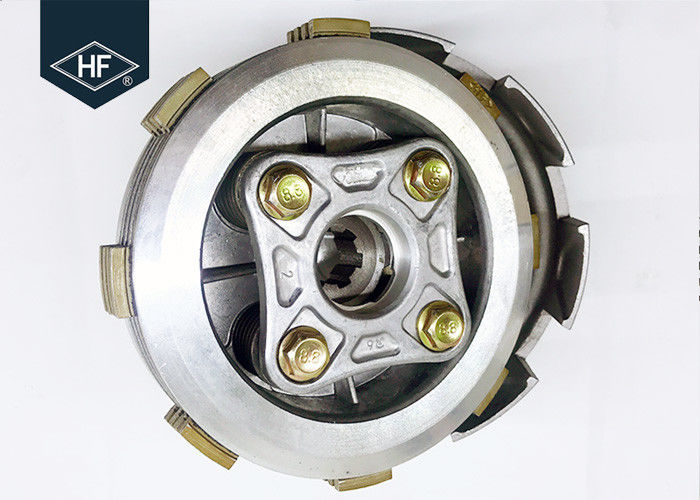 CD100 CD110 Motorcycle Clutch Assembly For Scooter Honda 100cc Replacement 4 Screw