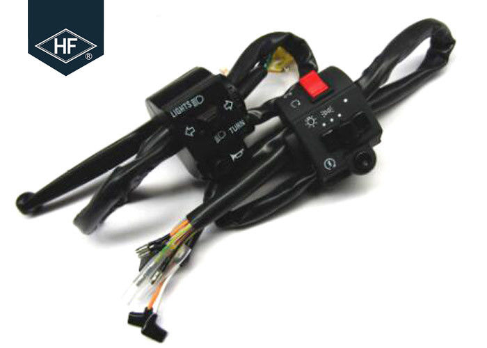 Black Plastic Left And Right Handle Switch Standard Size For Suzuki Motorcycle
