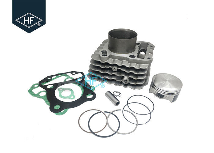 Silver Color Motorcycle Cylinder Kit Engine Cylinder Block Piston Kit Bore 63.50mm